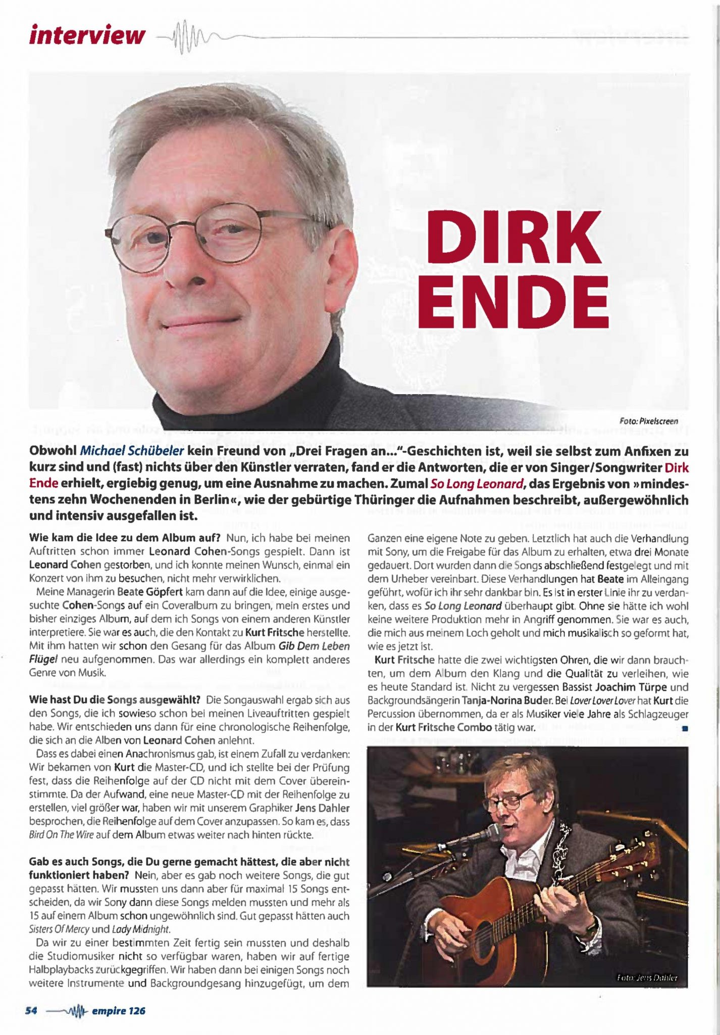 EMPIRE MAGAZIN HEFT 126 2018 PAGE 54