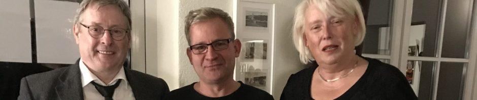 Von rechts nach links: Beate Göpfert, Andreas Müller, Dirk Ende