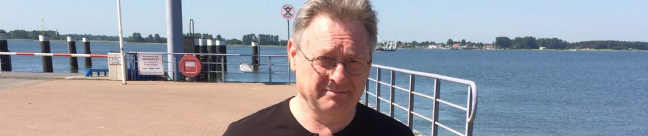 Dirk Ende on his way to Bansin/Usedom