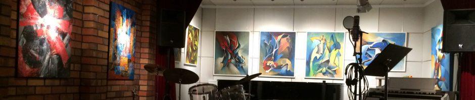 Im Studio bei Kurt Fritsche in Berlin